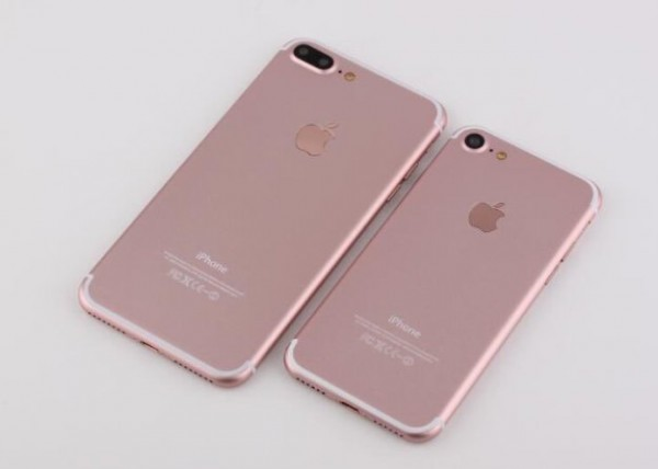 iPhone 7/7 Plus有哪些不同?iPhone 7/7 Plus原型机同框对比