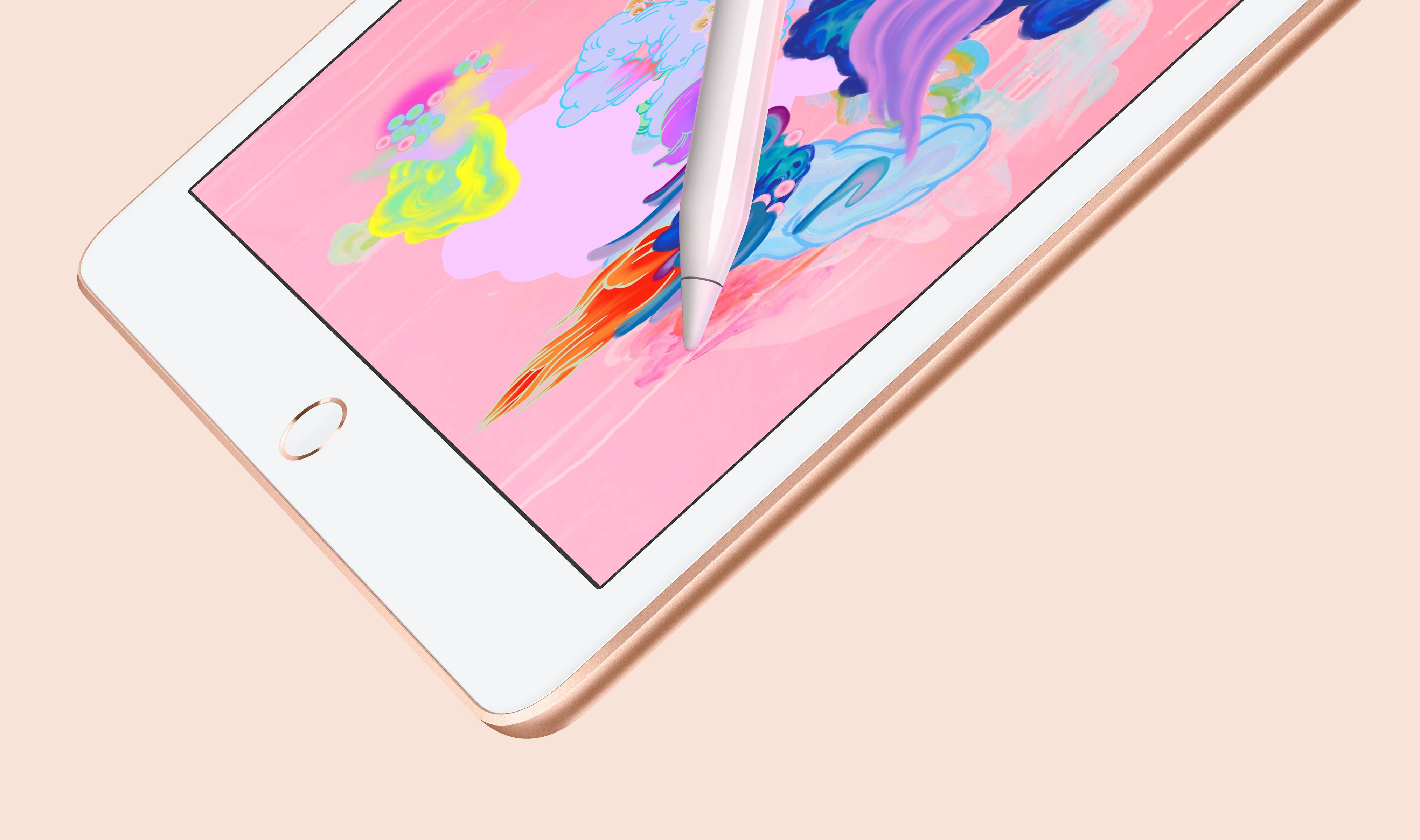 全新9.7英寸iPad正式发布  支持Apple Pencil