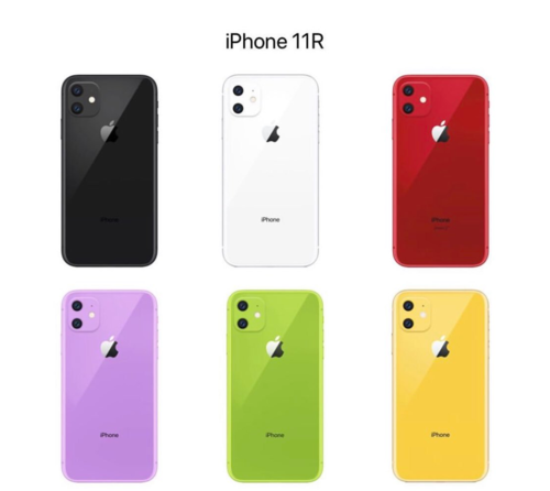新一代 iPhone XR 多色渲染图亮相:新增紫色、绿色