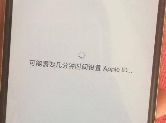"""激活 iPhone 卡在""""可能需要几分钟设置 Apple ID""""怎么办?"""