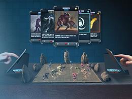 """""""暮光之城""""特效团队将推出AR手游《HoloGrid》 玩桌游不需要实体卡牌"""