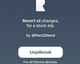 使用Rollectra工具清除iOS11.3~11.4beta3越狱教程