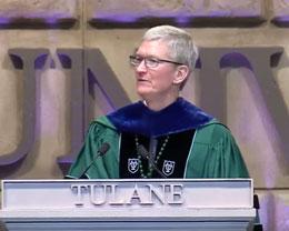 库克在杜兰大学发表演讲,表示「某些方面我们这一代人已经失败了」