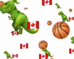 Apple 官网主页以「小恐龙」动画庆祝多伦多猛龙夺得 NBA 冠军