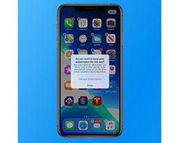 iOS 13 这个功能很贴心:删除应用前主动提示相关订阅服务