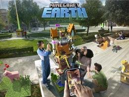 AR沙盒手游《Minecraft Earth》公开全新宣传片