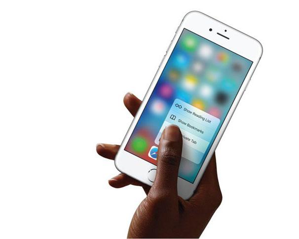 苹果或将取消 3D Touch 原因曝光:用户过少