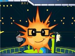 如果你的手机提示电量不足20% 那么就玩这一款电力小子吧
