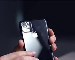 最新苹果 iPhone 11 机模出炉:基于 CAD 图制作