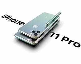 iPhone 11 Pro 概念渲染图:全新配色还支持手写笔
