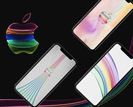苹果 iPhone 11 发布会邀请函相关壁纸分享
