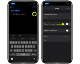 iOS 13 教程:如何在「提醒事项」中创建特定时间的提醒?