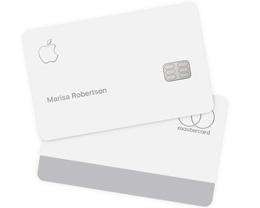 Apple Card 由 90% 的钛和 10% 的铝构成