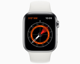 部分含有磁体的表带可能会影响 Apple Watch 指南针功能使用