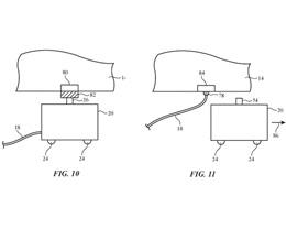 苹果电动车可以通过车库机器人进行自动充电和断电