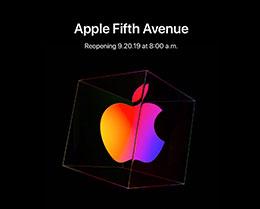 苹果向媒体开放纽约第五大道 Apple Store 直营店