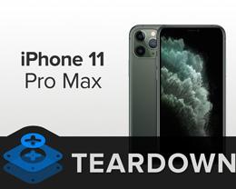 iPhone 11 Pro Max 详尽拆解,内部构造美轮美奂