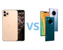 苹果 iPhone 11 Pro vs 华为 Mate 30 Pro 相机对比