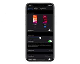 OLED 屏 iPhone 受益:iOS 13 开启深色模式续航猛增