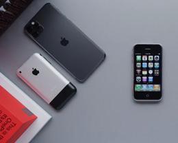 视频 | iPhone 11 Pro 对比与初代 iPhone 对比