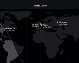 如何在 iPhone,iPad 和 Apple Watch上检查不同的时区的时间?