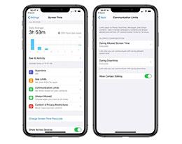 """苹果正致力于解决""""屏幕时间通信限制""""的 Bug"""