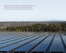Apple 发布 2019 年度环境责任报告,阐述其在改善环境上做出的努力