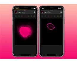 "iPhone 小技巧:使用""数码点触""功能发送特效信息"