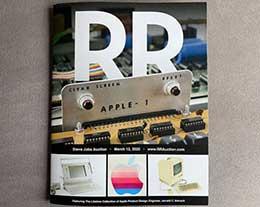 RR Auction 将在 3 月举办乔布斯专场拍卖:包括 Apple-1 等诸多产品