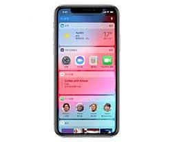 iPhone 锁屏时如何隐藏小组件界面?