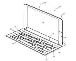苹果新专利显示未来 iPad 键盘可以连接到触摸屏进行输入