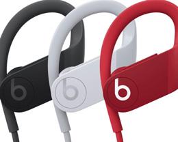 Powerbeats4 官方照片提前泄露,提供黑、白、红三种配色