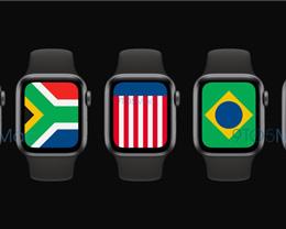 代码揭示 watchOS 7 将加入全新国旗表盘设计