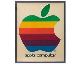 1970 年代苹果零售标志将于本月拍卖, 起拍价2万美元