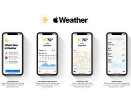 未来 iOS 天气应用会是怎样?Dark Sky 风格概念设计欣赏