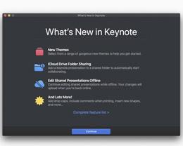 Apple 发布 Pages、Numbers 和 Keynote 重大更新