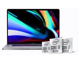 适合下一代 16'' MacBook Pro 的 Intel 第十代酷睿处理器发布