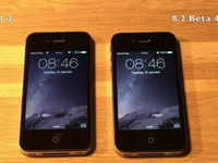 运行iOS8.2 Beta4 与8.1.2对比视频