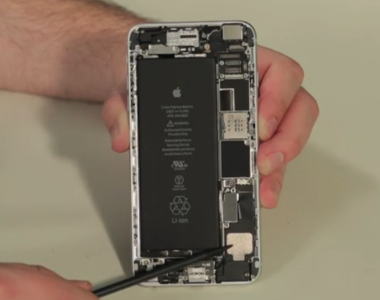 iphone 6/6 plus拆解对比:内部构造不同_爱思苹果助手