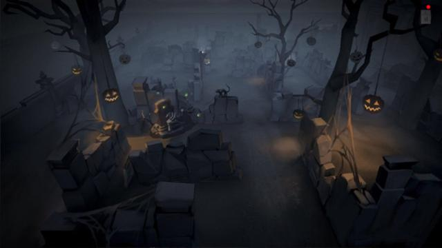 第五人格:最恐怖地图来了!万圣节模式教堂曝光!黑夜时