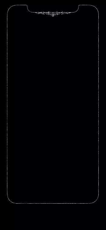 发光壁纸分享  今天为大家分享一些 iphone xs/xs max 的一些边框发光