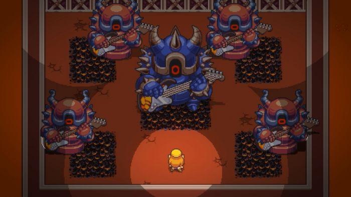 《节奏地牢》与《塞尔达传说》合作推出新游戏