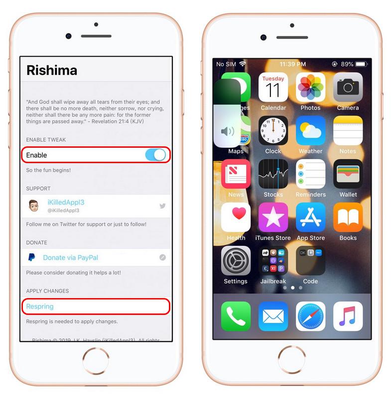 如何在 iOS 11-12 系统上设置 iOS 13 音量调节动画