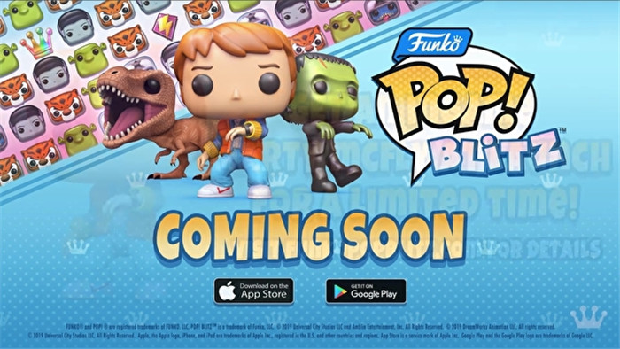 《Funko Pop!闪击战》首次公开 将收录诸多角色