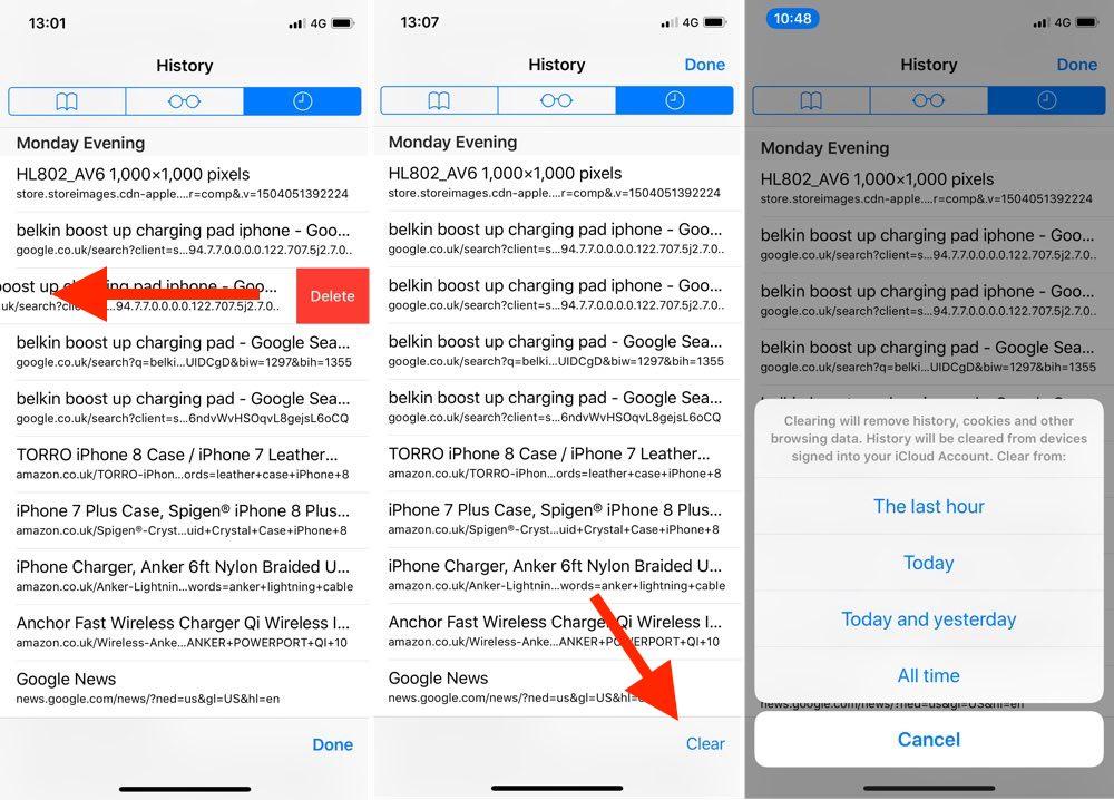 删除 Safari 浏览器历史记录 2 种方法 | 清除记录按钮显示灰色怎么办?