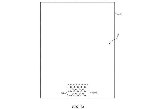 """新专利显示:未来 iPhone 可能会拿掉屏幕上的""""刘海"""""""