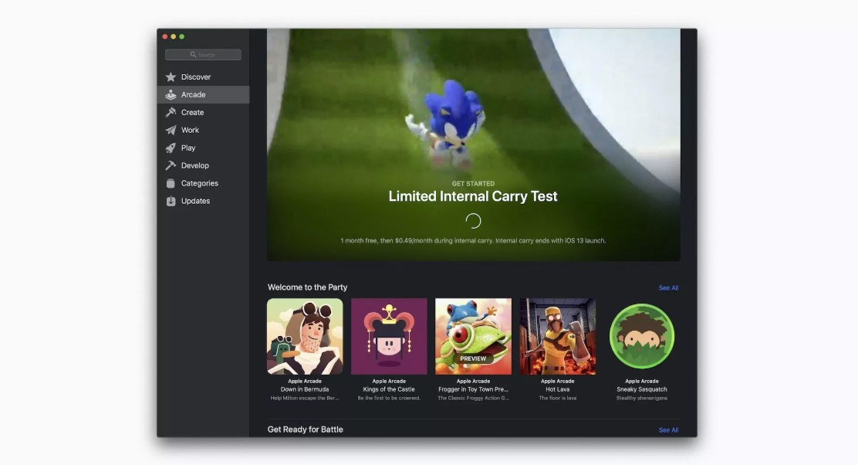 苹果开启 Apple Arcade 内部测试,精彩截图抢先看!