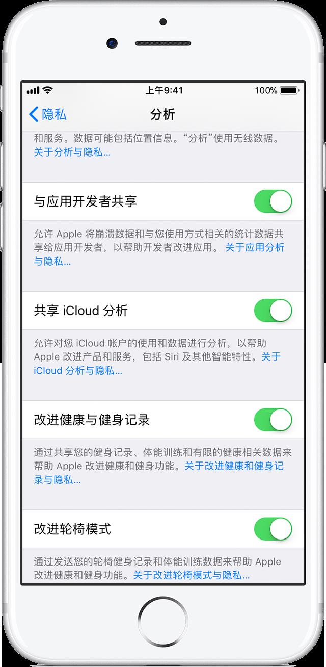 """""""共享 iPhone 分析""""是否会泄露用户隐私,开启会有什么影响?"""