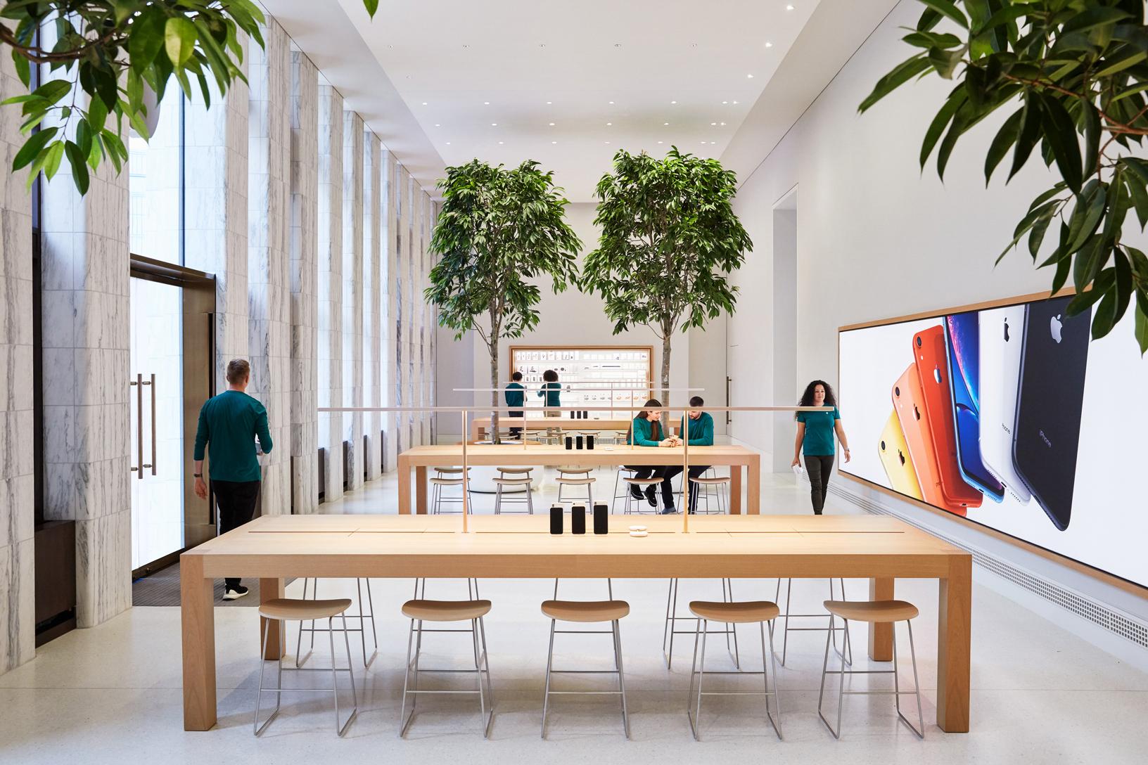 苹果迄今为止最浩大的历史性修复项目:百年图书馆变身 Apple Store