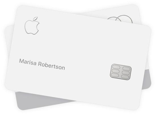 Apple Card 需避免接触硬质材料,否则会有褪色和划痕
